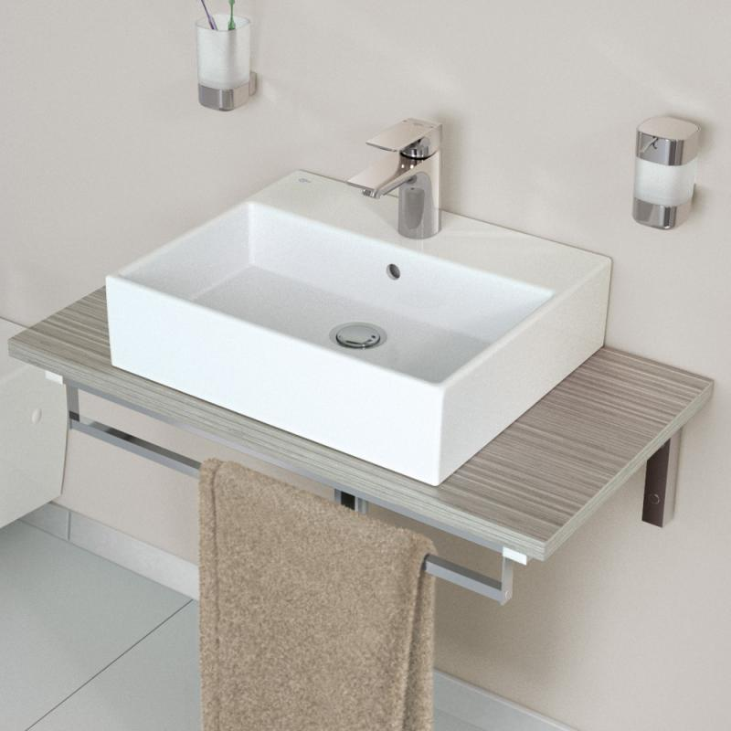 ideal standard strada waschtisch wei mit 1 hahnloch k077801 reuter. Black Bedroom Furniture Sets. Home Design Ideas