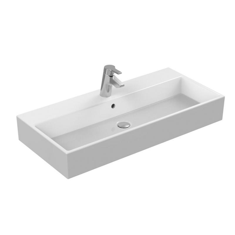 Ideal standard strada waschtisch wei mit ideal plus mit for Ideal standard waschtisch