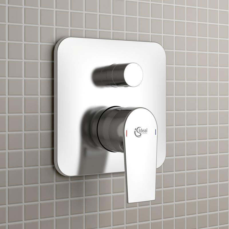 ideal standard tesi einhebel badearmatur unterputz a6586aa reuter. Black Bedroom Furniture Sets. Home Design Ideas