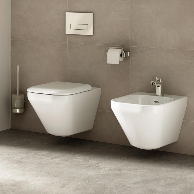 Ideal Standard Tonic II Wand-Bidet weiß mit Ideal Plus - K5236MA ...