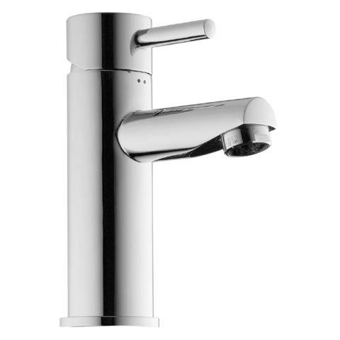 Jado Geometry Einhebel-Waschtischbatterie mit Ablaufgarnitur, Ausladung: 90 mm