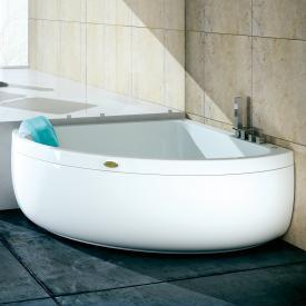 Jacuzzi AQUASOUL CORNER 140 Eck-Whirlpool mit Verkleidung mit Rainbow + Clean System