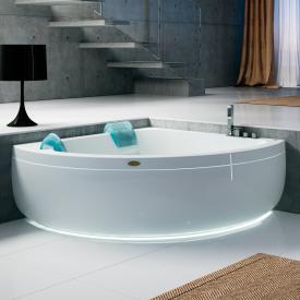 Jacuzzi AQUASOUL CORNER 155 Eck-Whirlpool mit Verkleidung mit Rainbow + Clean System