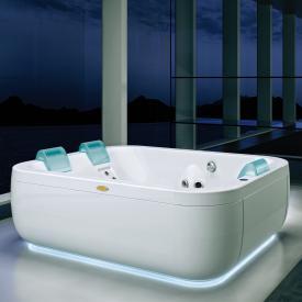 Jacuzzi AQUASOUL EXTRA freistehender Whirlpool mit Verkleidung mit Rainbow + Clean System