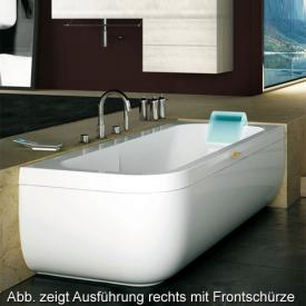 Jacuzzi Aquasoul Lounge Hydro Friendly Eck Whirlpool L: 180 B: 80 H: 57 cm,Schwalleinlauf Ausführung Links