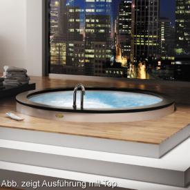 Jacuzzi Nova Top Aquasystem Rund Whirlpool Ø 180 x 63 cm ohne Top mit Wannenfüllarmatur