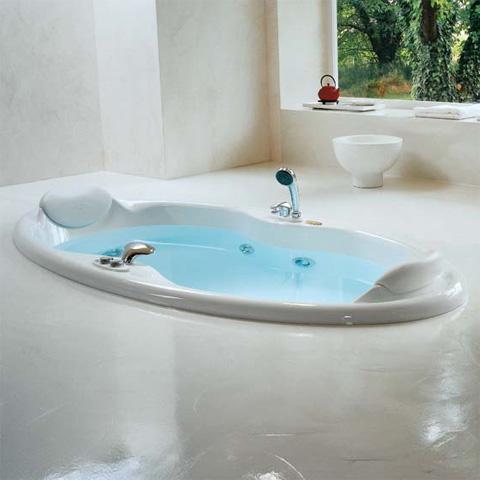 Jacuzzi elipsa einbau whirlpool ohne verkleidung ohne integrierten wanneneinlauf 9443109a reuter - Whirlpool einbau ...