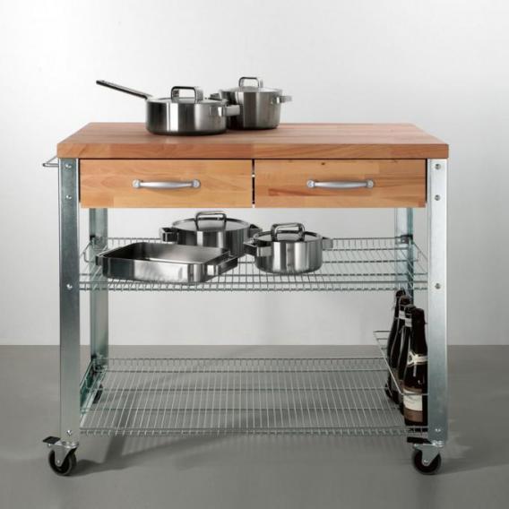 Jan Kurtz Cook Küchenwagen, 2 Schubladen