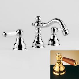 Jörger Delphi 3-Loch-Bidetarmatur gold/braun