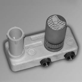 """Jörger Plateau Wand-Waschtisch 1-Hand Batterie 1/2"""", Einbaukörper"""