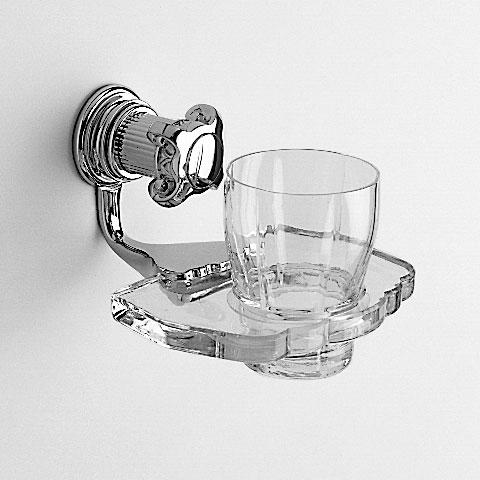 Jörger Aphrodite Glashalter komplett chrom