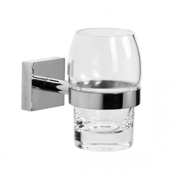 Jörger Charleston Square Glashalter mit Glas chrom