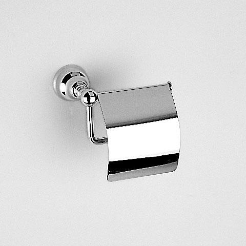 Jörger Delphi Toilettenpapierhalter mit Deckel chrom