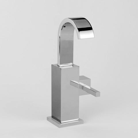 Jörger Empire Royale Handwaschbecken 1-Hand Batterie mit rundem Stopfen mit Ablaufgarnitur, chrom