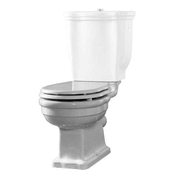 Jörger Delphi Stand-Tiefspül-WC für Kombination, Abgang senkrecht Abgang senkrecht