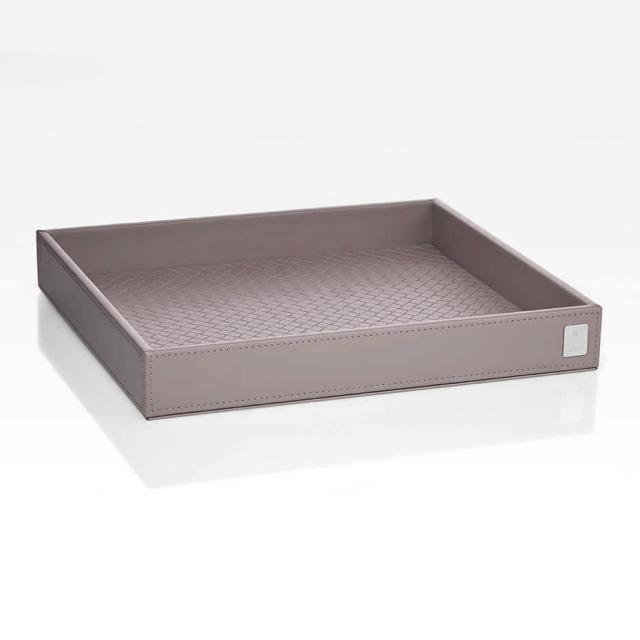 JOOP! BATHLINE großes Tablett grau rosé