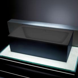 Kaldewei Asymmetric Duo Rechteck-Badewanne lavaschwarz matt