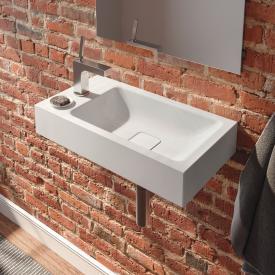 Kaldewei Cono Handwaschbecken weiß, mit 1 Hahnloch