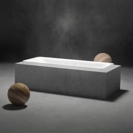 Kaldewei Incava Rechteck-Badewanne weiß mit Perl-Effekt