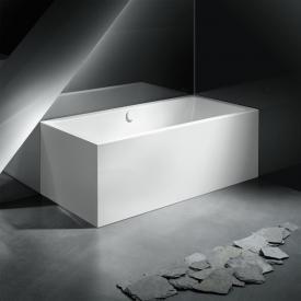 Kaldewei Meisterstück Conoduo 1 Links Rechteck-Badewanne, Eckeinbau links mit Füllfunktion