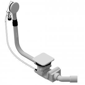 Kaldewei Spezial Ab- und Überlaufgarnitur mit Füllfunktion für Conoduo & Incava weiß