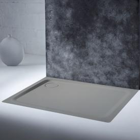Kaldewei SuperPlan Plus Rechteck-Duschwanne pasadenagrau matt, mit Secure Plus