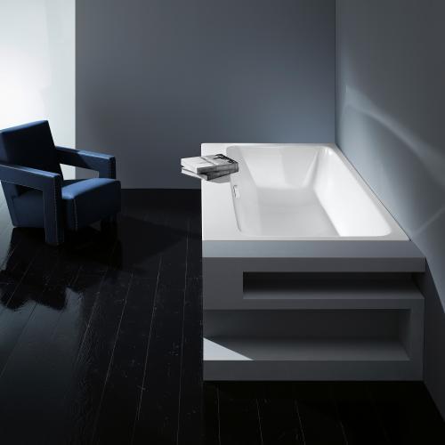 Kaldewei Asymmetric Duo Rechteck-Badewanne weiß