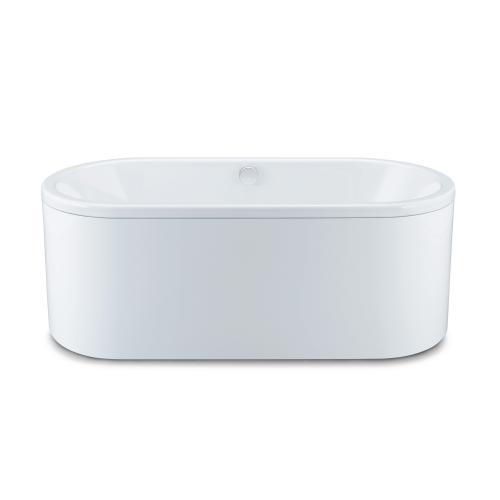 Kaldewei Centro Duo Oval Badewanne m. Verkleidung Antislip, weiß