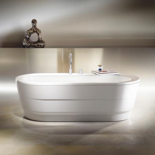 kaldewei classic duo oval wide freistehende badewanne wei 291648050001 reuter. Black Bedroom Furniture Sets. Home Design Ideas