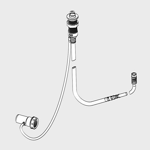 Kaldewei Comfort Select 4509 Brauseschlauch, versenkbar