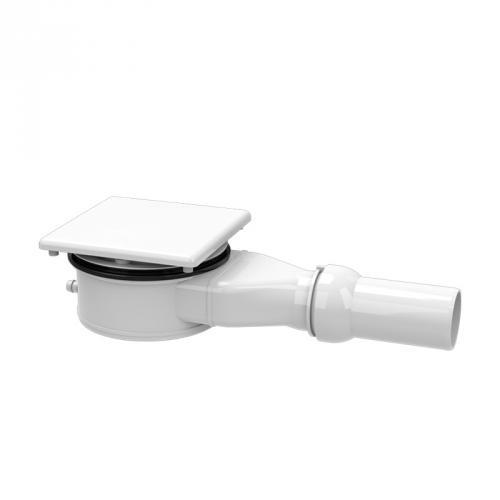 Kaldewei Conoflat KA 120 (Mod. 4092) Spezial-Ablaufgarnitur waagerecht für ESR II weiß