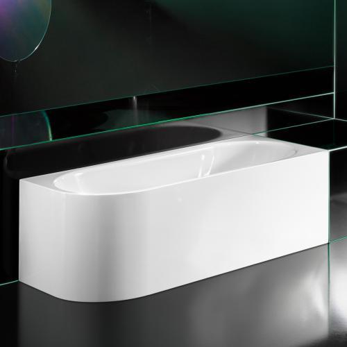 Kaldewei Meisterstück Centro Duo 1 Links, Rechteck-Badewanne mit Füllfunktion