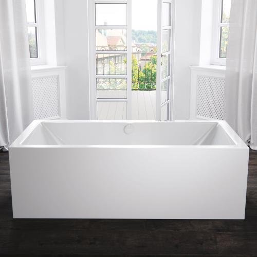Kaldewei Meisterstück Conoduo Freistehende Rechteck-Badewanne ohne Füllfunktion