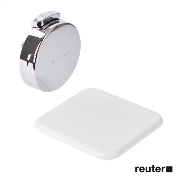 Kaldewei Comfort-Level 4004 Ab- und Überlaufgarnitur für Conoduo & Incava weiß/chrom
