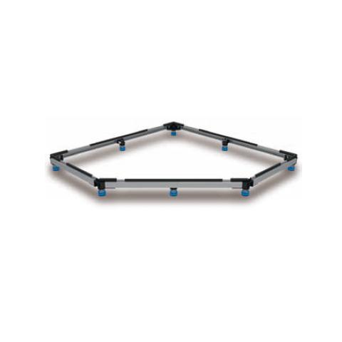 Kaldewei Duschwannen-Fuss-Rahmen FR 5300 L: 1000 B: 1000 mm für Cornezza