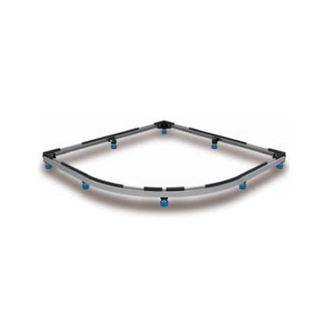 Kaldewei Duschwannen-Fuss-Rahmen FR 5300 L: 1000 B: 1000 mm für Zirkon