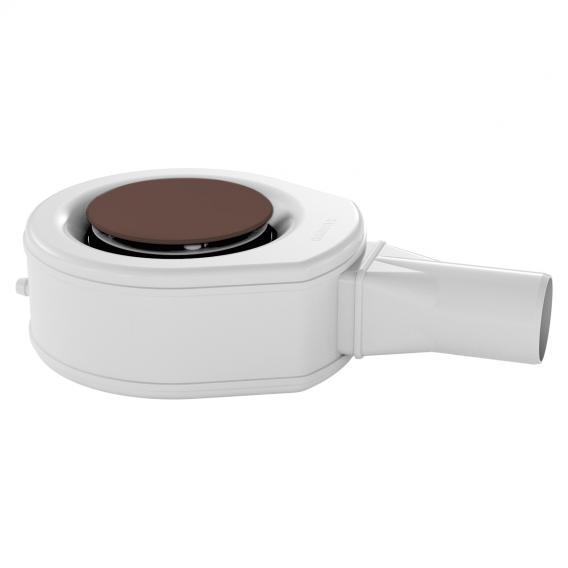 Kaldewei Professional KA 90 (Mod. 4046) Ablaufgarnitur mit Secure Plus für ESR II mit vollemailliertem Ablaufdeckel, anconabraun matt