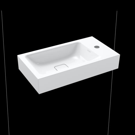 Kaldewei Set Cono Handwaschbecken mit Steinberg 260 Armatur weiß/schwarz matt