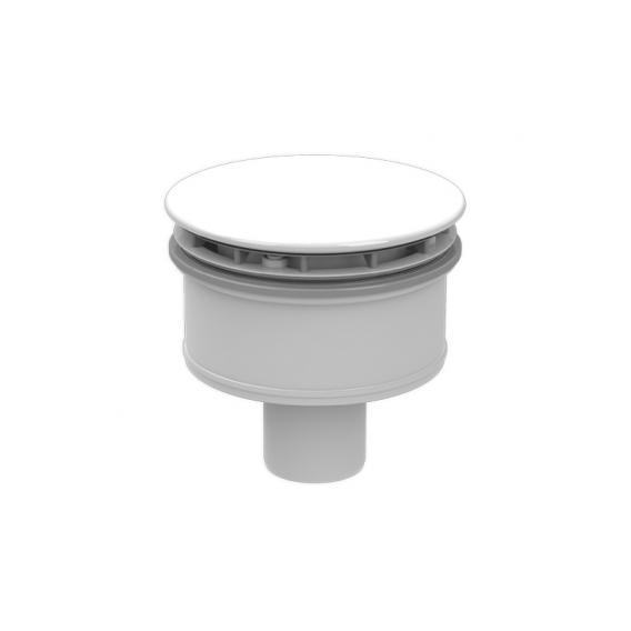 Kaldewei SuperPlan Plus KA 125 (Mod. 4098) Spezial-Ablaufgarnitur senkrecht weiß