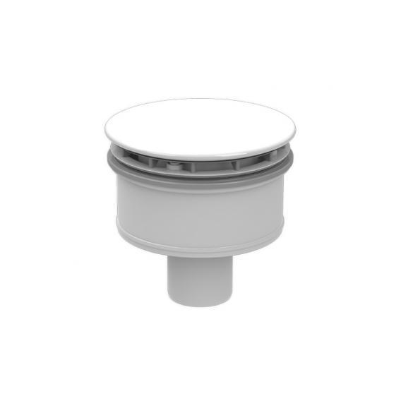 Kaldewei SuperPlan Plus KA 125 Spezial-Ablaufgarnitur senkrecht weiß