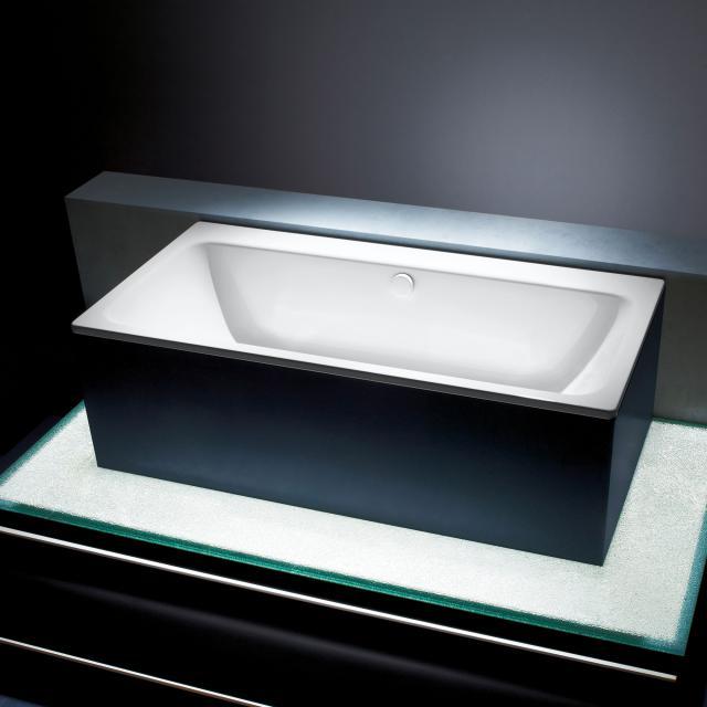 Kaldewei Asymmetric Duo Rechteck-Badewanne, Einbau weiß matt