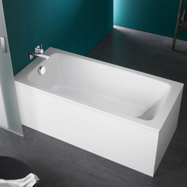 Kaldewei Cayono & Cayono Star Rechteck-Badewanne, Einbau weiß matt