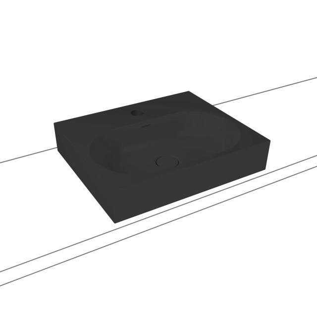 Kaldewei Centro Aufsatzwaschtisch cool grey 90, mit 1 Hahnloch