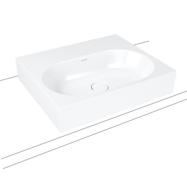 Kaldewei Centro Aufsatzwaschtisch weiß, ohne Hahnloch