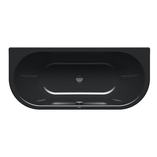 Kaldewei Centro Duo 2 Vorwand-Badewanne, Einbau schwarz mit Perl-Effekt