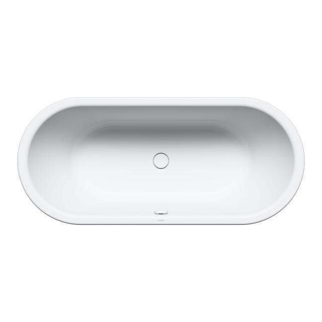 Kaldewei Centro Duo Oval-Badewanne, Einbau weiß matt