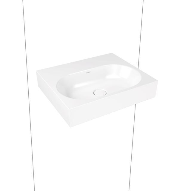 Kaldewei Centro Wandwaschtisch weiß matt ohne Hahnloch