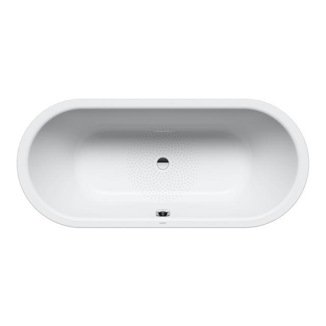 Kaldewei Classic Duo Oval-Badewanne, Einbau Antislip, weiß