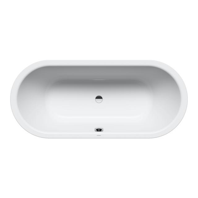 Kaldewei Classic Duo Oval-Badewanne, Einbau weiß matt
