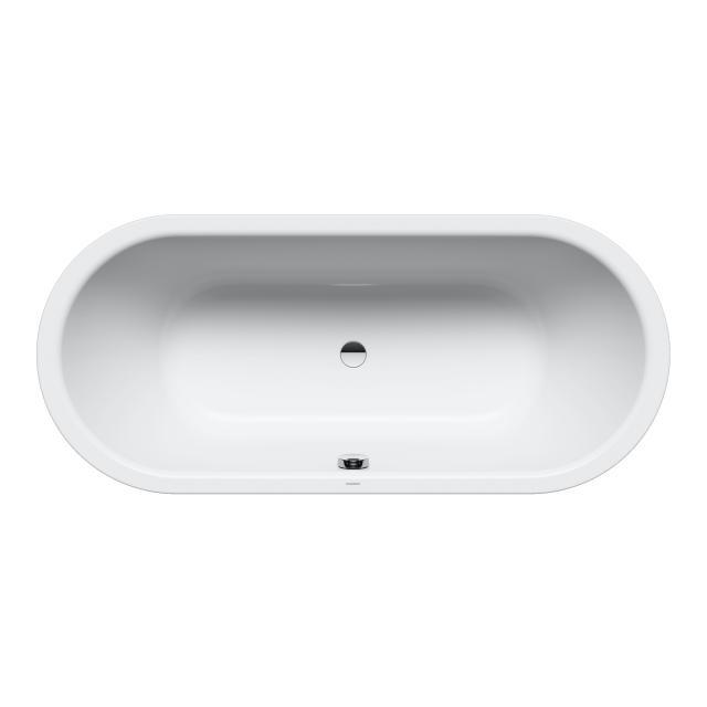 Kaldewei Classic Duo Oval-Badewanne, Einbau weiß mit Perl-Effekt